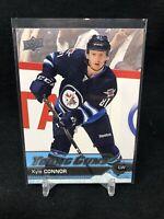 16-17 Upper Deck Kyle Connor Young Guns Rookie Winnipeg Jets RC 2016 G42