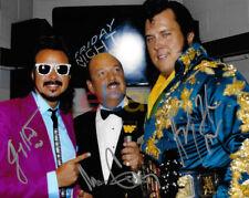 Mean Gene Okerlund & Honky Tonk Man Jimmy Hart Signed 8x10 Photo reprint