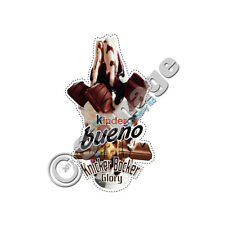 Ice Cream Van Sticker Kinder Bueno Knicker Bicker Glory Die Cut