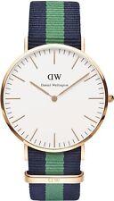 Nylon Band Men's Daniel Wellington Classic Wristwatches