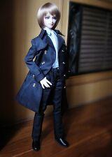 [wamami]500# Black Dust Coat/Windbreaker/Suit/Clothes 1/4 MSD AOD DZ BJD Dollfie