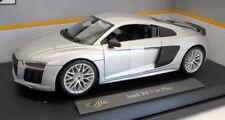 Maisto 1/18 Scale Diecast 31513 - Audi R8 V10 Plus - Silver