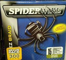 Spiderwire Ez Braid 15 Lb, 300 Yd , Moss Green, Ez Casting, Fishing Line