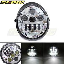 Front LED Headlight Head Lamp Projector For Harley Street Rod VROD VRSC VRSCA US