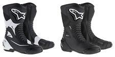 Alpinestars SMXS Black or White Motorbike Street/Sports Boots