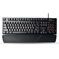 LATEST Optical Mechanical Gaming Keyboard ZIDLI ZK1900,Spill And Water Resistant