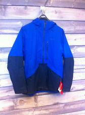 Men's Patagonia Insulated Snowshot Ski Jacket color Viking Blue size large