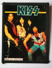 KISS Original Vintage 1980`s Sew On Photo Card Patch not shirt badge lp cd vinyl