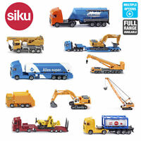 SIKU Miniature Scale 1:87 Diecast Model Construction Building Toys Age 3+