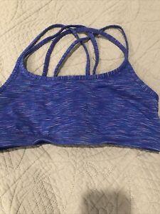athleta sports bra purple medium