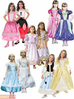 Childs Girls Reversible Costume Princess Pirate Witch Bride 2 in 1 Fancy Dress