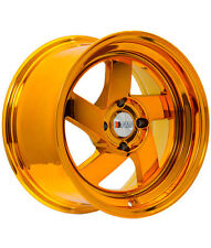 4X15inch F1R F8 COPPER CH wheels 158 honda mazda rx2 rx3 rx4 rx7 nissan s13 s14