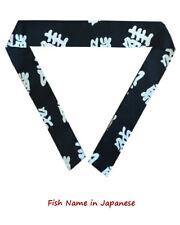 Hibachi chef headband, sushi chef headband, hibachi chef necktie, chef necktie