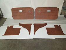 New 6 Piece Interior Panel Set w/ Door Panels MGB 1970-80 Autumn Leaf TK119K