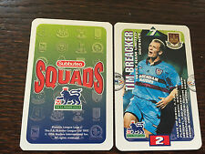 Subbuteo Squads 1996 Trading Card: West Ham United - TIM BREACKER