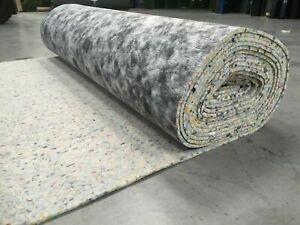 Supreme PU Carpet Underlay 8mm/10mm/12mm Thick - 15m² Roll - UK made bargain