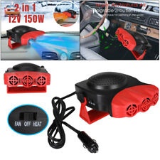 12V Car Auto Portable Electric Heater Heating Cooling Fan Defroster Demister New