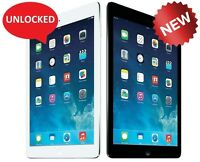 NEW Apple iPad Air 1st Gen 64GB WiFi + Cellular (Unlocked) Space Gray or Silver