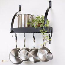 Stainless Steel Kitchen Hanging Pots Pan Racks Ebay