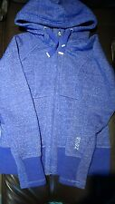 zella activewear purple hooded jacket for women size l new without tags warm
