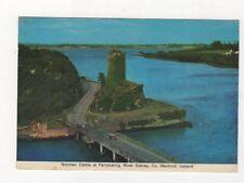 Norman Castle Ferrycarrig River Slaney Co Wexford Ireland Postcard 879a