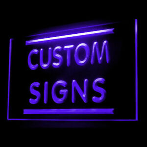 Your Name Your Text Personalized Custom Made Customize LED Light Neon Sign