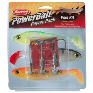PowerBait Pro Pack Pike 15cm (3 Pack) - Fishing Kit