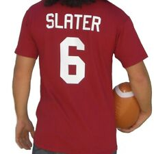 A.C. Slater #6 Bayside Jersey T-Shirt Saved By The Bell Costume Tigers Football