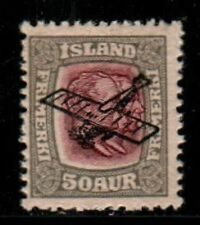 Iceland Scott C2 Mint hinged (Catalog Value $70.00)
