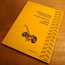 New Holland 450 455 Sickle Bar Hay Mower Parts Catalog Manual Book Nh