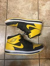 Air Jordan 1 Alpha Yellow / Black Men's Size 12