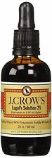 J.CROW'S® Lugol's Solution of Iodine 2% 2 oz Bottle