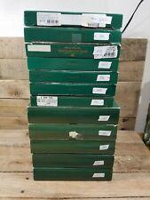 Lot Of 12 Bing Grondahl 1989 - 2000 Santa Claus Collection Plates