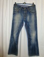 CAMP DAVID PREMIUM NICK men's button fly blue jeans W33 L32 great co COOL