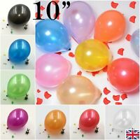 """16 Colors 10"""" Inch Super Metallic Pearls Latex Balloons Extra Thick AAA Quality"""