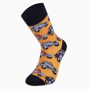 Men Classic Car Socks Funny Socks Gift Socks Novelty Socks Cute Socks