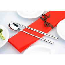 Korean stainless chopsticks - plain economical design