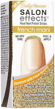 SALLY HANSEN SALON EFFECTS MANI FRENCH MANICURE 1 NEW BOX #003