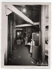 PHOTO - Cliché BASTIDE - Tri postal Panier Métier Travail LA POSTE  Vers 1930.