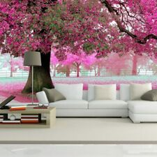 Romantic Cherry Tree Wallpaper Floral Photo Home Wall Background Decoration New