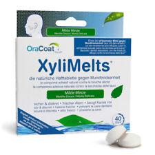 OraCoat XyliMelts Hafttabletten - gegen Mundtrockenheit, für bessere Mundhygiene