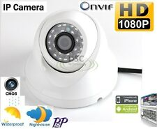 ONVIF 1080P HD 2.0MP Mini Dome IP Camera Outdoor support NAS Synology Blue Iris