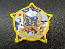ALASKA STATE TROOPER PATROL POLICE PATCH BRAND NEW