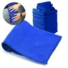 1/5 x Large Blue Microfibre Cleaning Auto Car Detailing Soft Cloths Wash Towel