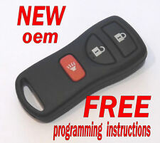 NEW OEM 2005 - 2016  NISSAN FRONTIER KEYLESS REMOTE ENTRY FOB 28268-ZT03A
