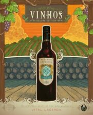 Vinhos: Deluxe Edition w/ All Stretch Goals [Board Game, 1-4 Players, Ages 14+]