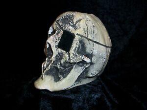 Vintage Disney Randotti 837 Eye Patch Pirate Caribbean Skull Signed RAN GLOWS!