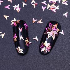 Chameleon 3D Nail Art Decoration Tips V-shaped Iridescent Flakes BORN PRETTY