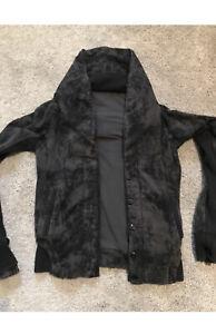 Lululemon To Class Jacket Cardigan Black Tie Dye Deep Coal / Black 4