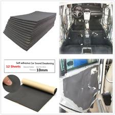 12X Car Sound Proofing Deadening Insulation Closed Cell Foam Universal 30cm×50cm